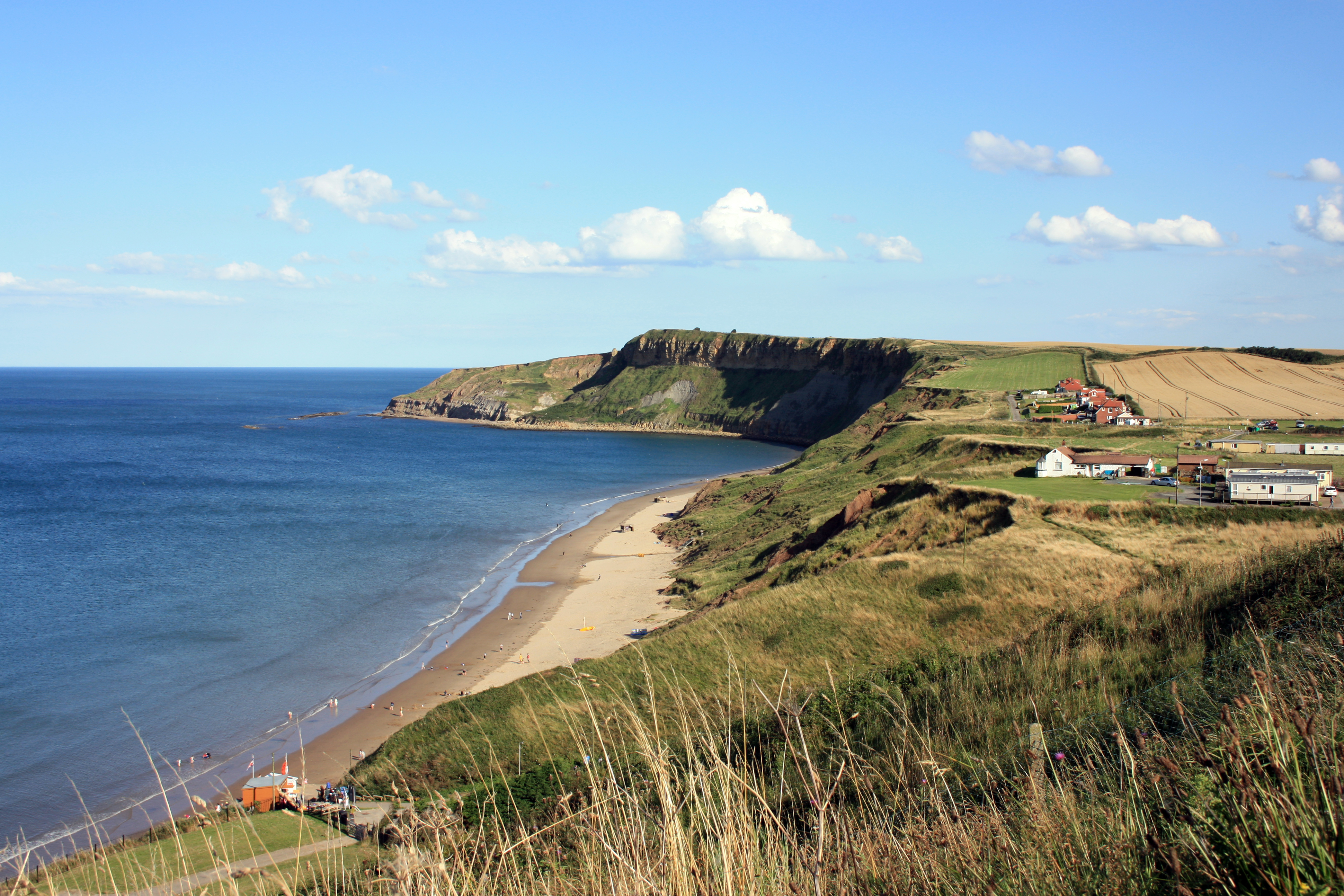 Filey, North Yorkshire, Clifftop View